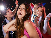 VIP Disco Party Teenagers